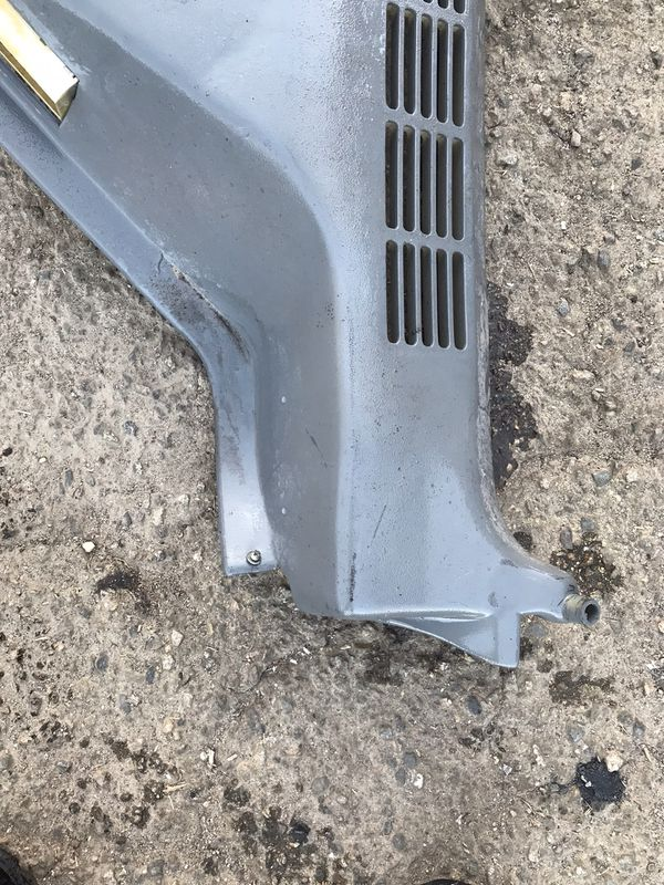 Gmc Chevrolet Suburban rear AC COVER