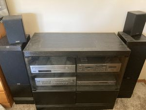 Stereo Set with Entertainment Center for Sale in Richland, WA