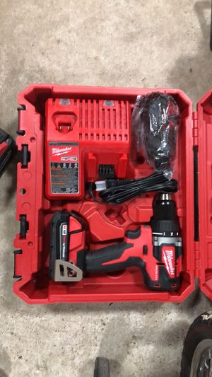 Milwaukee drill brushless for Sale in Dallas, TX