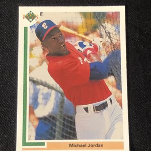 1991 Upper Deck Michael Jordan Baseball Card SP1 Chicago White Sox for Sale in Bothell, WA