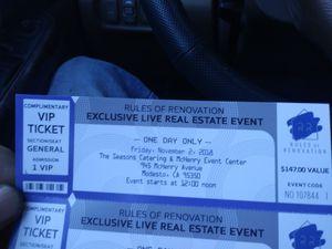 Exclusive live real estate event for Sale in Modesto, CA