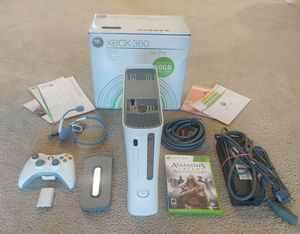 Microsoft Xbox 360 Console Big Bundle + 60gb HDD + Controller + Mic + Game for Sale in Kenmore, WA