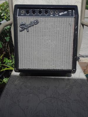 Squier BP 15 made by Fender instruments for Sale in US