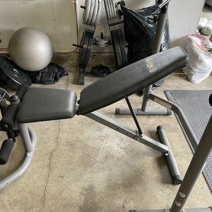 Adjustable Squat/bench/leg Set for Sale in Covington, WA