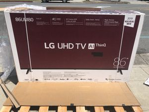 LG 86 inch 4K TV smart for Sale in Norwalk, CA