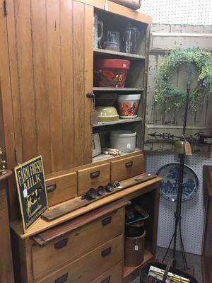 Farmhouse Stepback Cabinet! for Sale in Aurora, IL