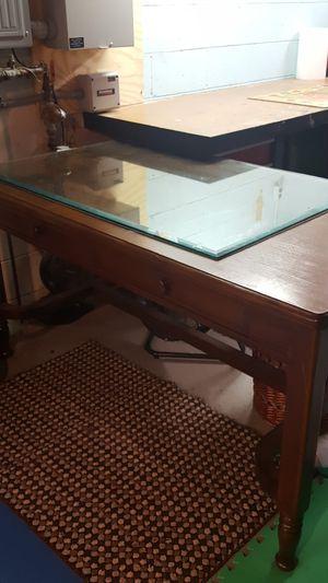 Antique library desk for Sale in Pickerington, OH