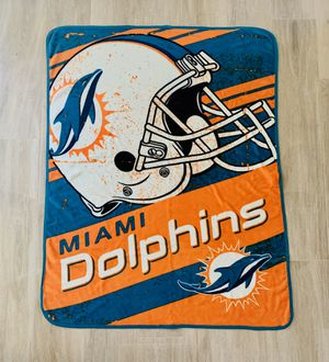 Miami Dolphins Blanket Throw for Sale in Avon Park, FL