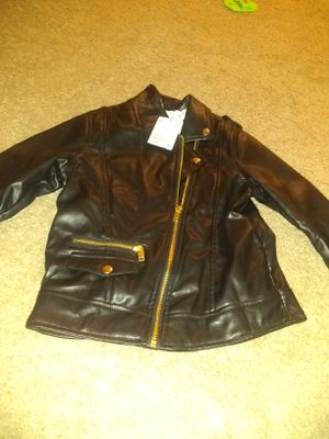 Girls leather jacket 7/8 for Sale in Washington, DC
