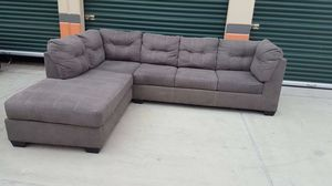 Grey sectional couch delivery available for Sale in Norwalk, CA