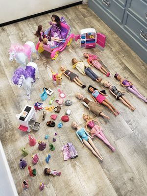Barbies and accessories for Sale in Tucson, AZ