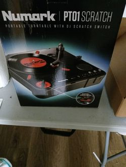 NUMARK PT01 SCRATCH portable Turntable. for Sale in Los Angeles,  CA
