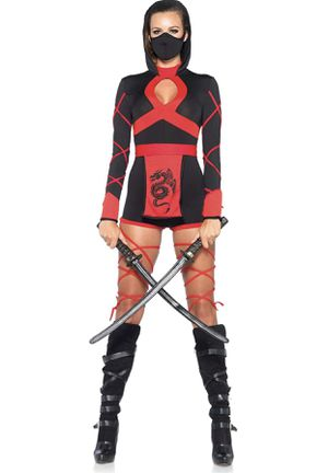 Ninja Women's Halloween Costume for Sale in Elmwood Park, IL