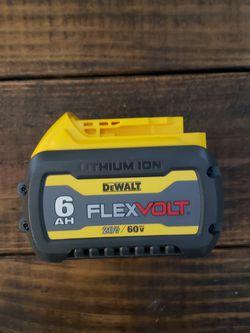 Dewalt Flexvolt Bateria 6.0 🛑PRECIO FIRME NADA MENOS for Sale in Houston,  TX
