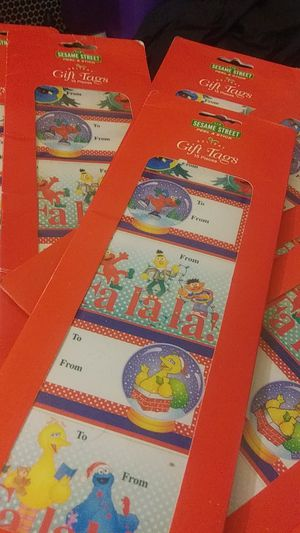 Sesame Street gift tags for Sale in Heath, OH