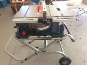 Bosch 10 in. Worksite Table Saw with Gravity-Rise Stand for Sale in Marlborough, MA