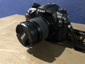 Nikon D200 Camera W/ 2 Lenses for Sale in Houston, TX