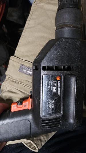 "Black&Decker 3/8"" drill (2way level) for Sale in Glendale, AZ"