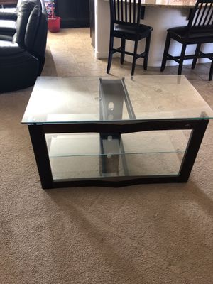 Glass Tv Stand for Sale in Sun City, AZ