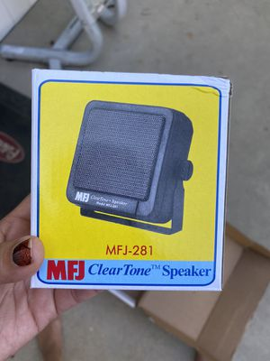 MFJ Clear Tone Speakers Brand New for Sale in Corona, CA