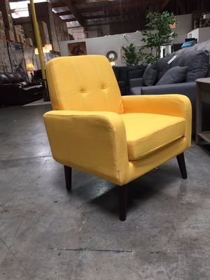 Modern Accent Chair, Yellow for Sale in Downey, CA