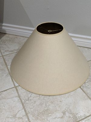 Paper lampshade for Sale in Dallas, TX