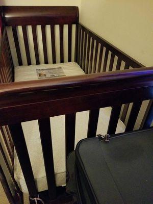 Baby wooden crib for Sale in Gaithersburg, MD