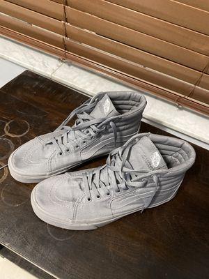 vans canvas sk8 Hi shoes for Sale in Delray Beach, FL