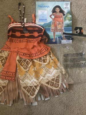 Toddler Moana Costume for Sale in Fremont, CA
