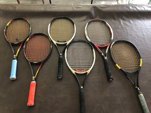 Racquets Rackets tennis $70 EACH OBO for Sale in Rancho Cucamonga, CA