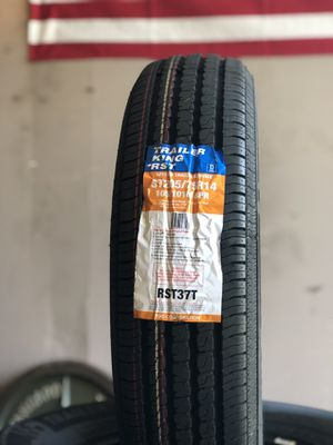 NEW!!! ST205/75R14 D Trailer King RST 8Ply for Sale in Austin, TX