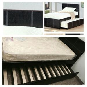 Twin twin trundle bed! for Sale in Houston, TX