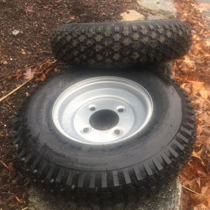 Trailer tires. Go cart Tires. Garden Tractor Tires NEW for Sale in Durham, CT