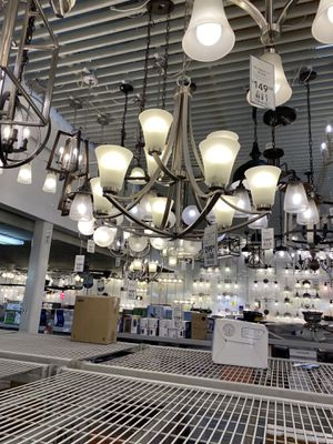 Nice Chandeliers four different ones 35.00 each today come and grab the one you want today! for Sale in Tacoma, WA