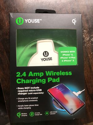 Wireless phone charger for Sale in Grosse Pointe Park, MI