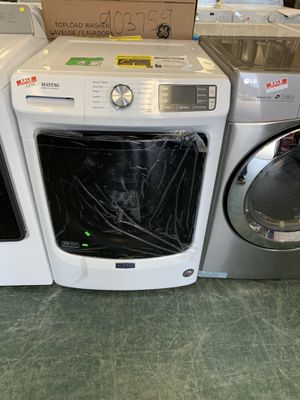 NEW MAYTAG FRONT LOAD WASHER AND DRYER ELECTRIC SET WITH WARRANTY for Sale in Woodbridge, VA