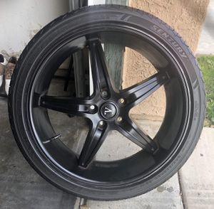"20"" Black Velocity Rims for Sale in Victorville, CA"