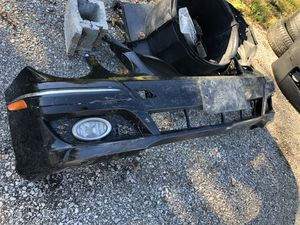 Mercedes E class front bumper assembly with passages fog and trim and crime trim light damage $125 original parts for Sale in Cleveland, OH