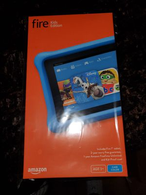Amazon fire kids edition tablet for Sale in Bolingbrook, IL