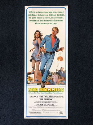 Vintage 1977 Mr. Billion Movie Poster Pawn Shop Casa de Empeño for Sale in Vista, CA