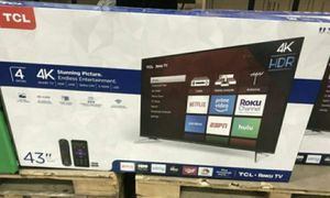 "43"" TCL Roku Tv 4k HDR for Sale in Las Vegas, NV"