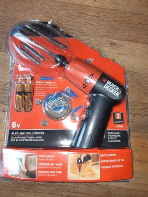 Black&Decker 6v drill/driver set for Sale in Citrus Heights, CA