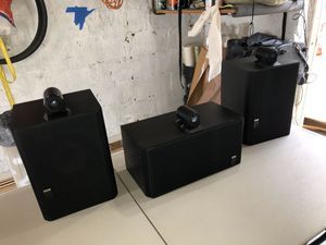 B&W speakers, loudspeakers and amplifier for Sale in Brooklyn, NY