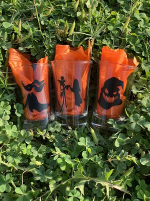 Nightmare Before Christmas Shot Glass Set for Sale in Riverside, CA
