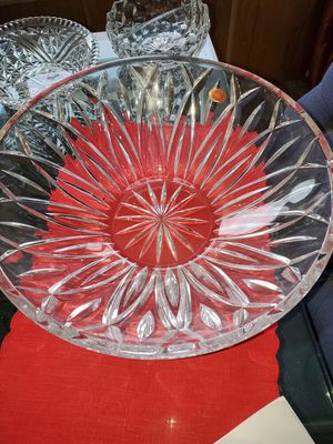 Gorham 14 inches crystal bowl for Sale in Klamath Falls, OR