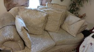 Two couches and side table for Sale in Manassas, VA