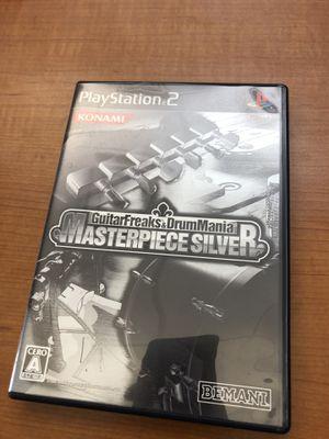 GuitarFreaks&DrumMania Masterpiece Silver PS2 for Sale in Atlanta, GA