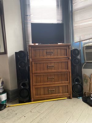 Lg Bluetooth surround speaker w/ Blu-ray DVD player for Sale in Lancaster, PA