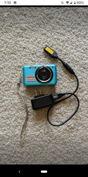 Samsung camera with charger for Sale in Ashburn, VA