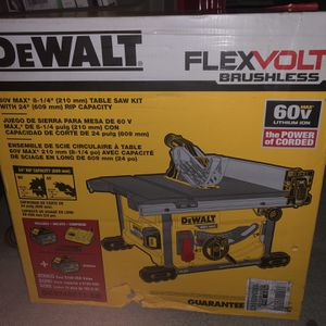 Dewalt 8-1/4 Table Saw for Sale in Providence, RI